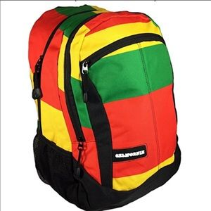 Padded backpack with dividers great for school 😍